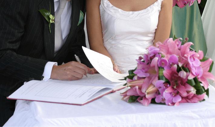 documentação para Casamento Gratuito em Pirajuba - MG